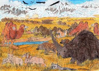 Siberian Mammoth Steppe by WDGHK