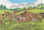 Giant Cheetahs and Giant Jaguars