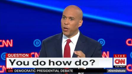2nd Democratic Debate screenshot #3
