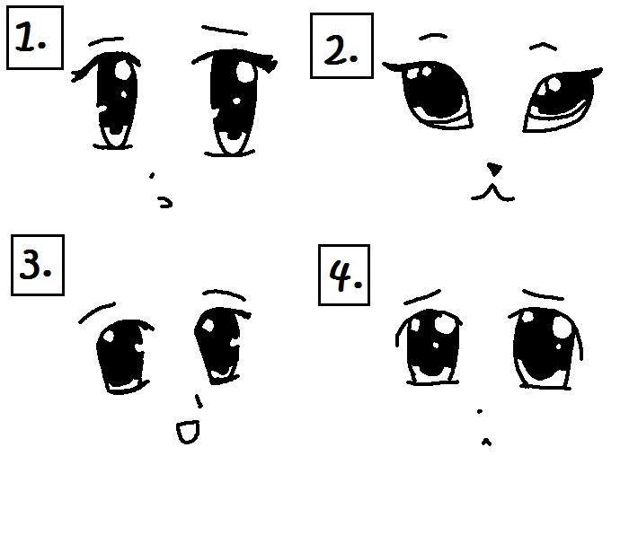 how to draw cute cartoon animals with big eyes