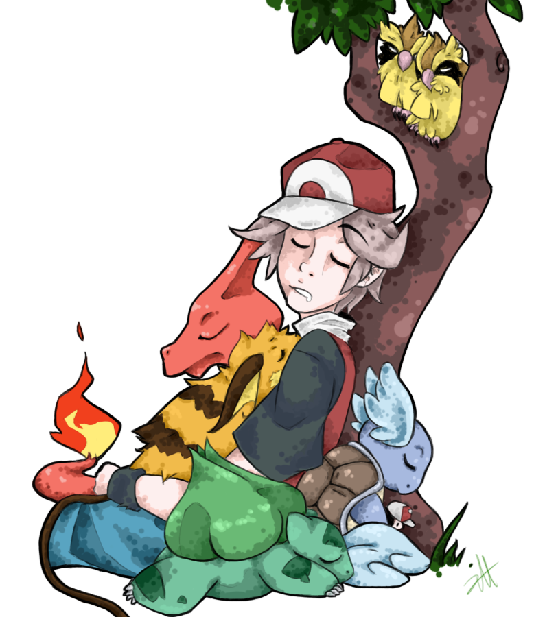 Renders Pokemons 01 Naptime_by_swiftfrost-d6p6mg1