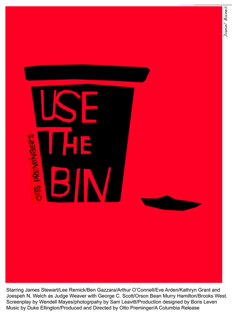Anatomy of a Murder anti-littering poster by 06b004 on DeviantArt