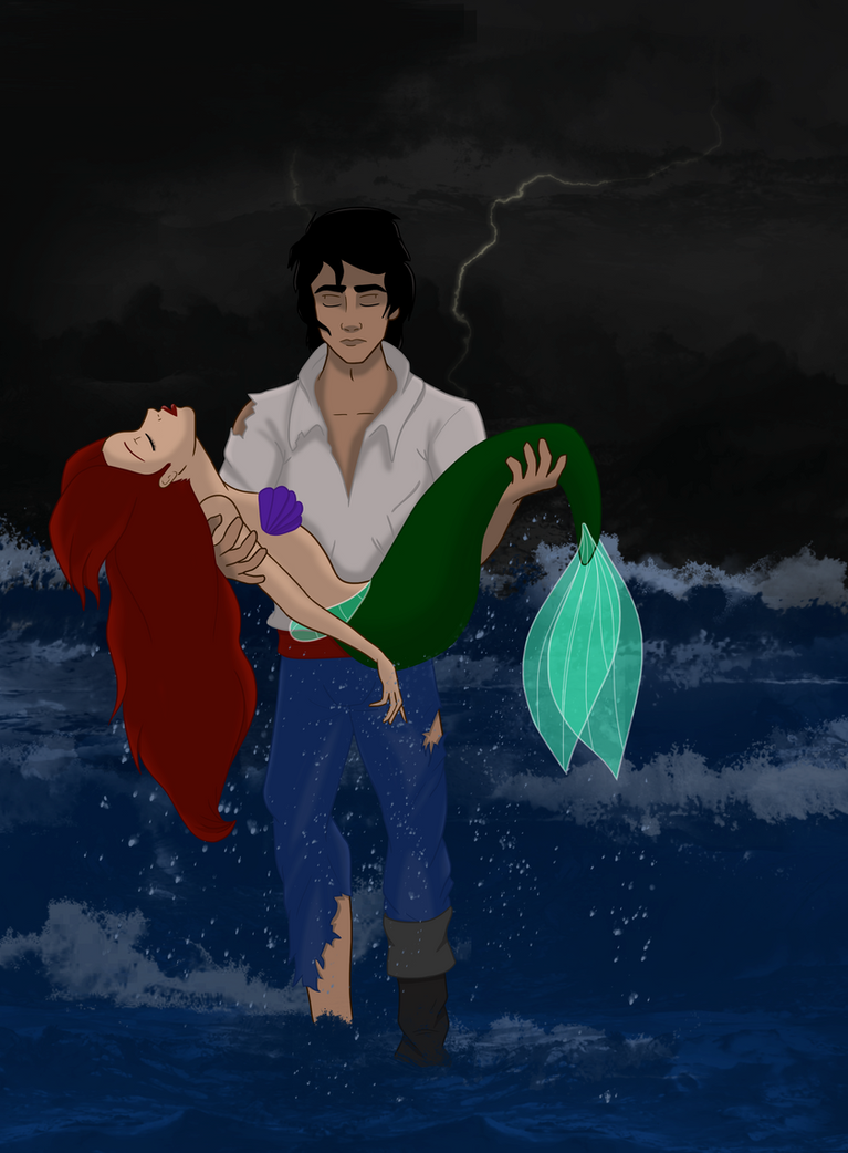 What if Eric had saved Ariel from the explosion by marionlalala on