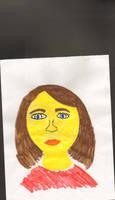MY self portrit by hancreech