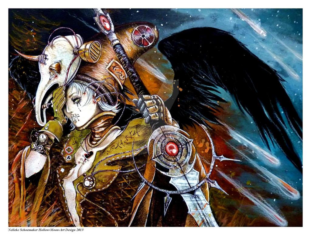 Apocalypse II Poster design by Hollow-Moon-Art