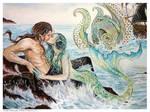 The Little Mermaid - A Mermaids Kiss CLOSE UP