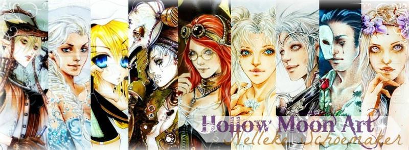 Hollow moon art Banner by Hollow-Moon-Art