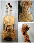 Golden dragon violin II