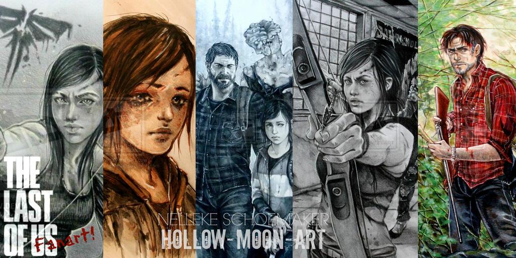 Last of us - fanart banner by Hollow-Moon-Art