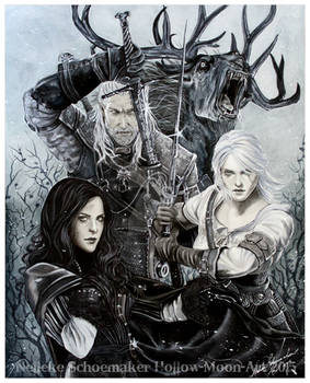 Witcher - Wild hunt Finished
