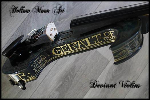 Geralt or rivia electric violin 3