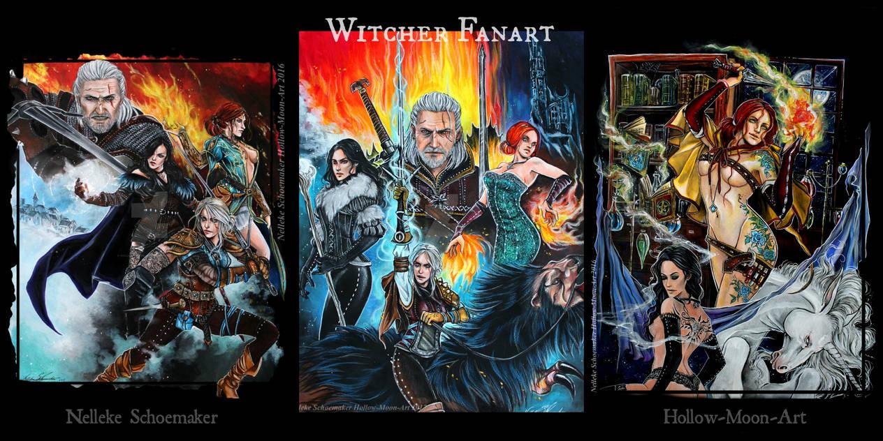 Witcher Fanart banner by Hollow-Moon-Art