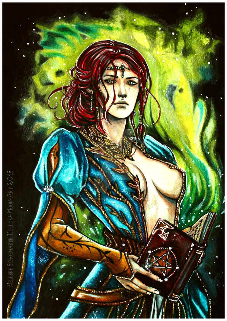 Triss Merigold by Hollow-Moon-Art