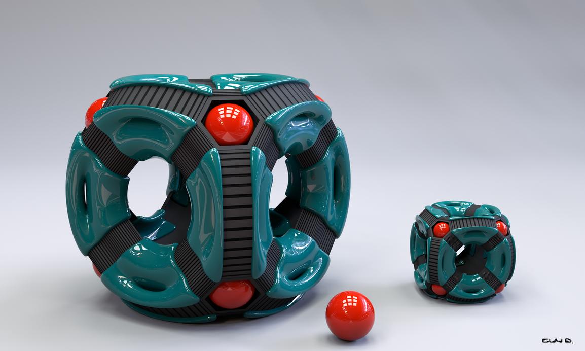 AlieN-Cubes II by Absork