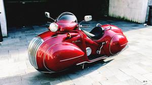 Motorbike Render by Absork