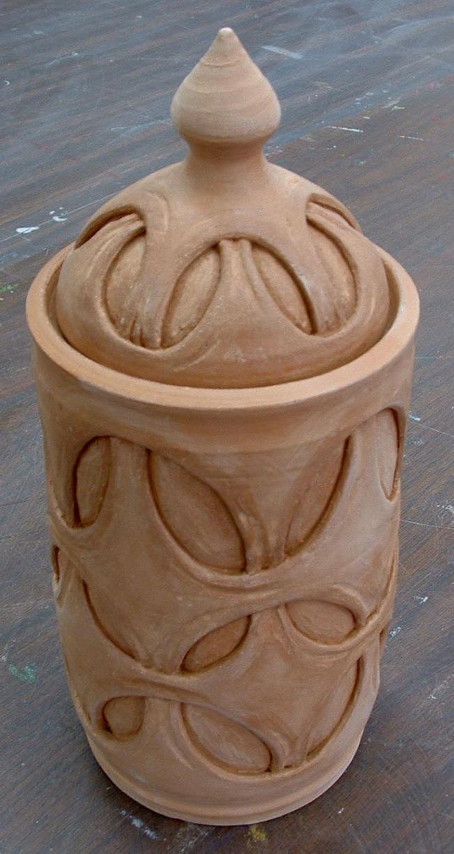 Jar Carved 01 By J Knez On Deviantart