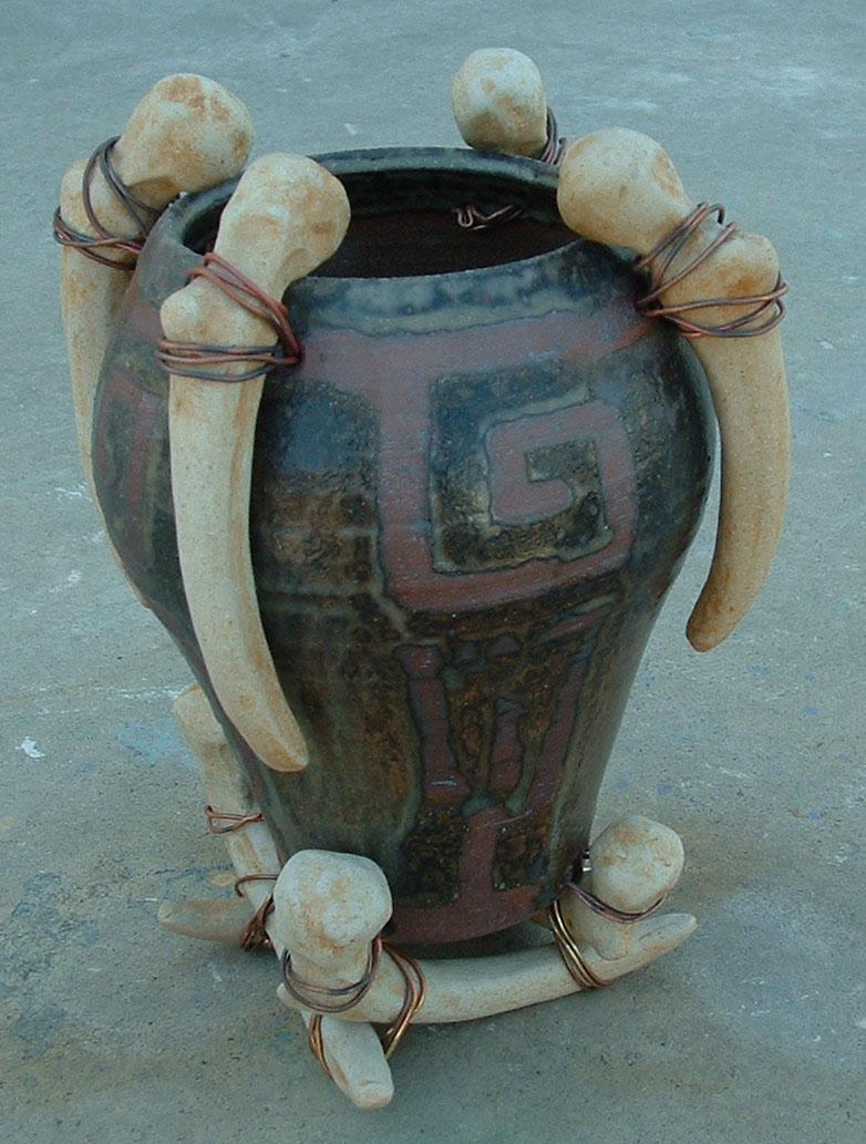 Shamanic Ceremonial Vessel by J-Knez