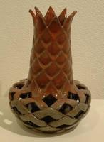 Vase Pineapple 01 by J-Knez