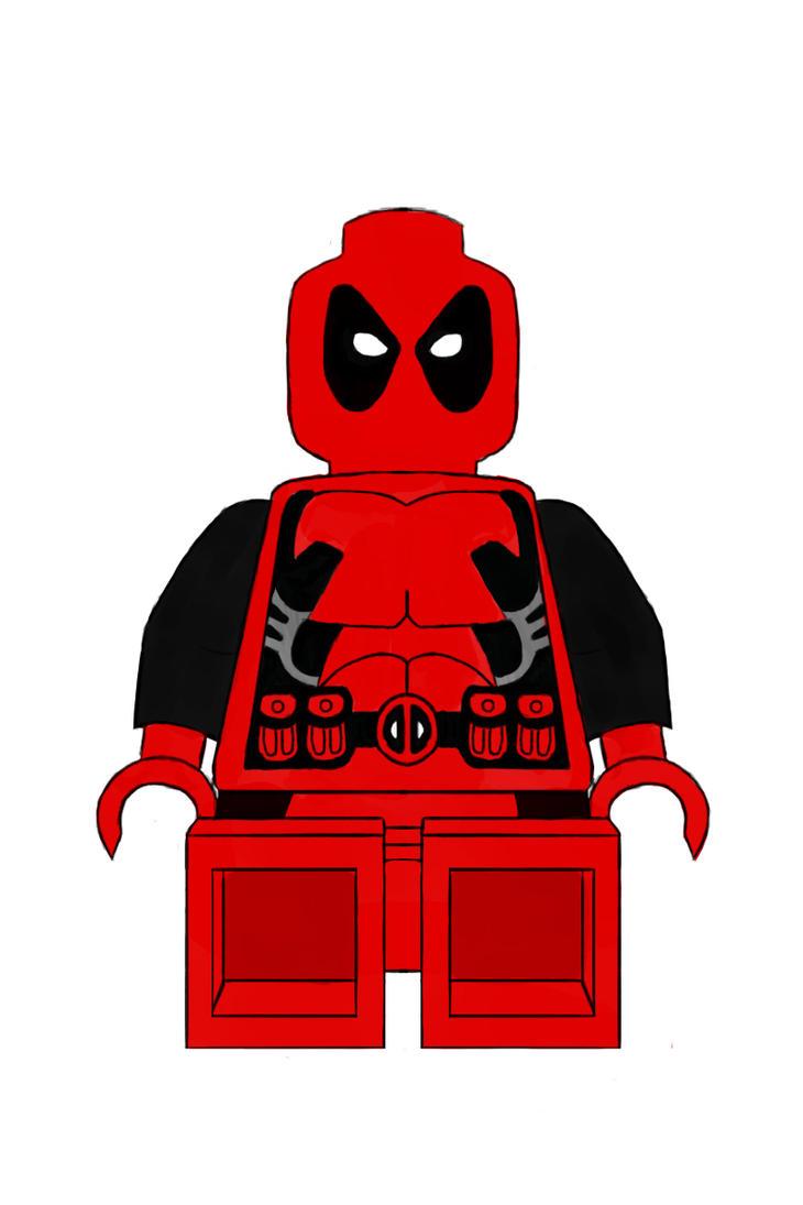 lego deadpool by chanceloth