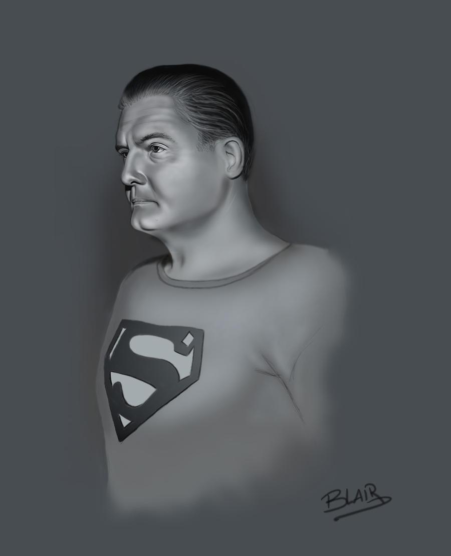 George Reeves by Leebea