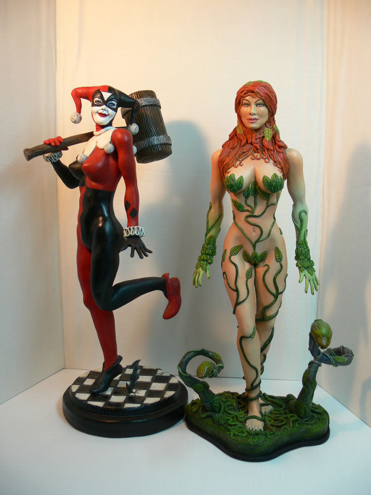 Harley Quinn and Poison Ivy. by Leebea