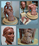 Female bust. by Leebea