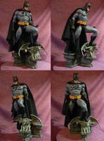 Batman 1/5 scale statue cloth cape. by Leebea