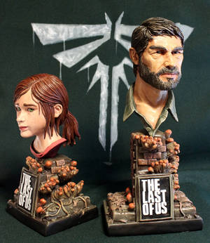 Ellie and Joel The Last of us.
