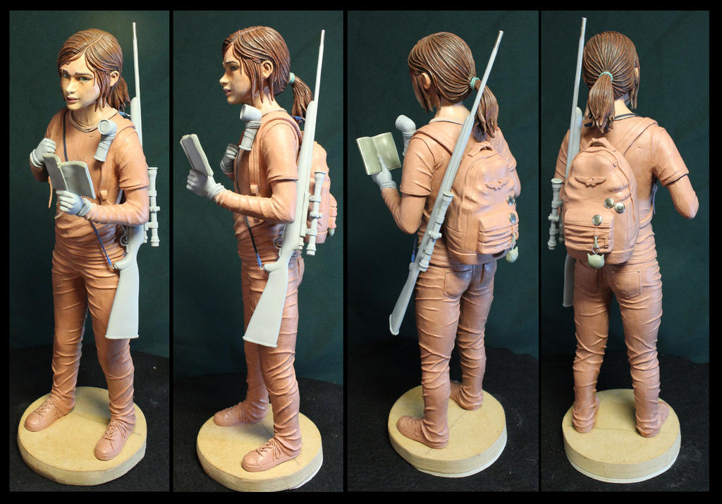 The Last of us Ellie quarter scale statue. by Leebea