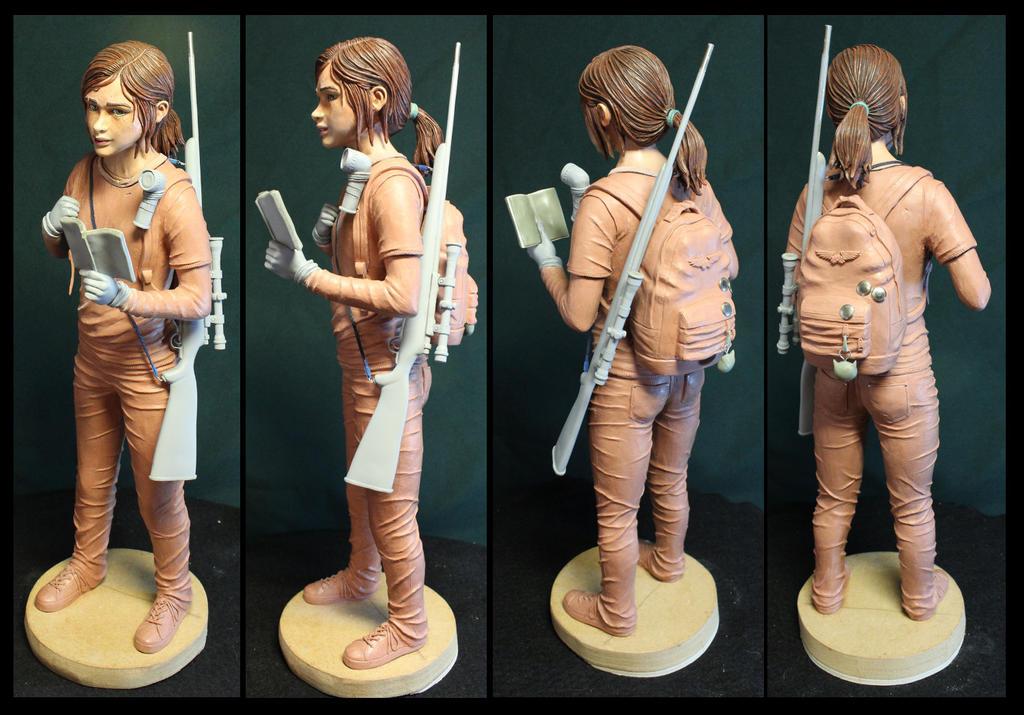 The Last of us Ellie quarter scale statue.