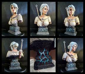 Witcher 3 Ciri Bust