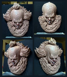 Pennywise Half scale sculpture