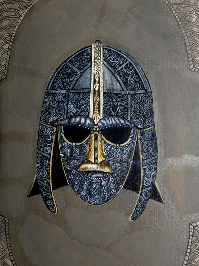 Pin anglo saxon early english tattoo designs artwork on for Saxon warrior tattoos