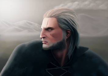 Geralt of Rivia by StendorfDesign
