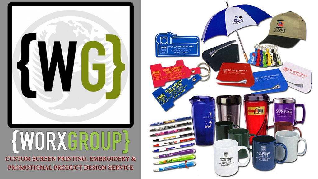Worx Group Embroidery, Screen Printing Service by WorxGroup