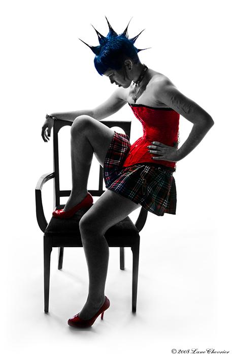 Jenny in Red by BlackScarletLove
