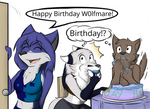 Happy B-day W0lf of Mare