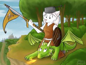 Silver the Dragon Rider