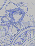 [Commission] Captain Honononami