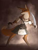 Bandit King Scarlet by infinitedge2u