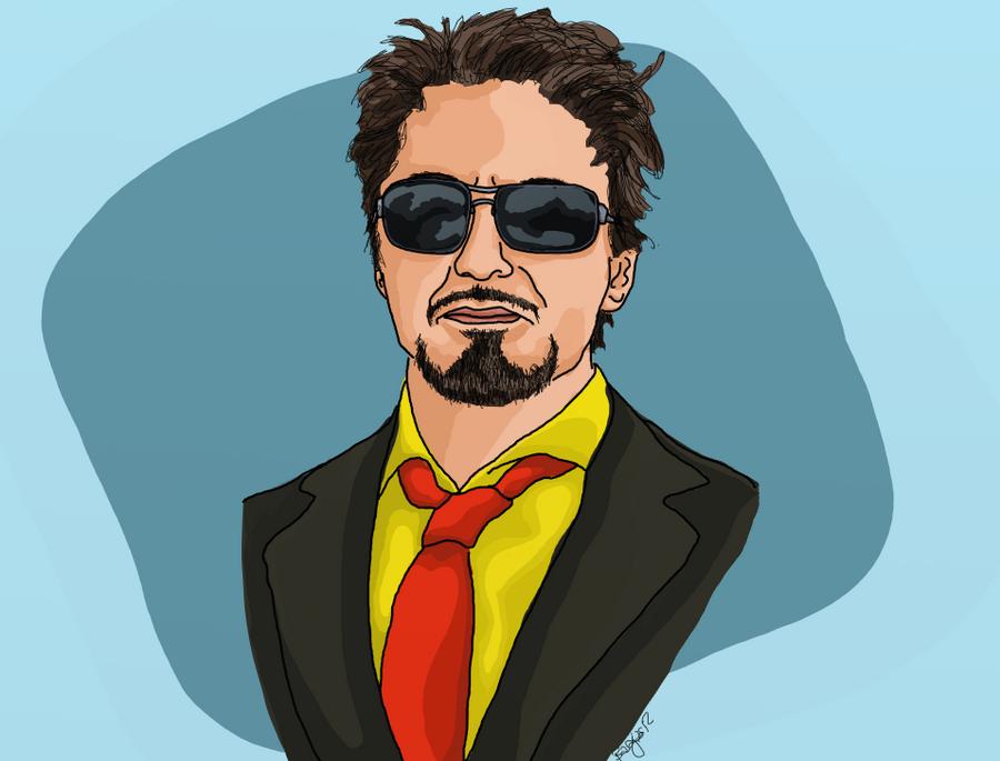 Tony Stark by El--Tigre