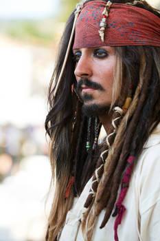 Jack Sparrow Impersonator Andrea Franchini