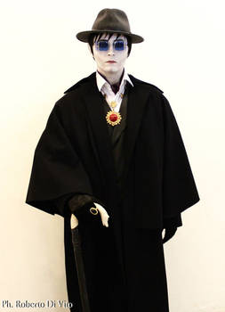 Barnabas Collins Glasses and Hat