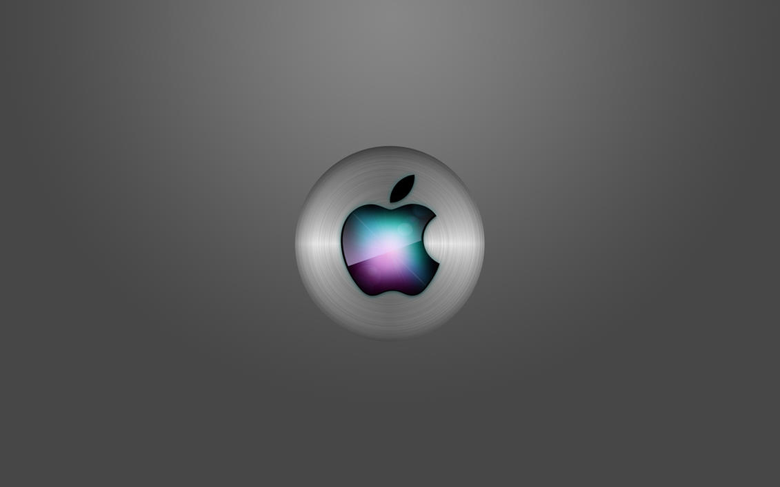 Apple Wallpaper Brushed by Sandromaso
