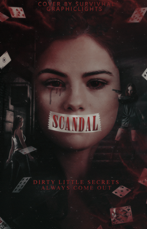 Scandal // a wattpad cover by lonelyhoran