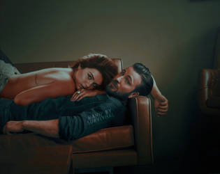 Chris and Selena by lonelyhoran