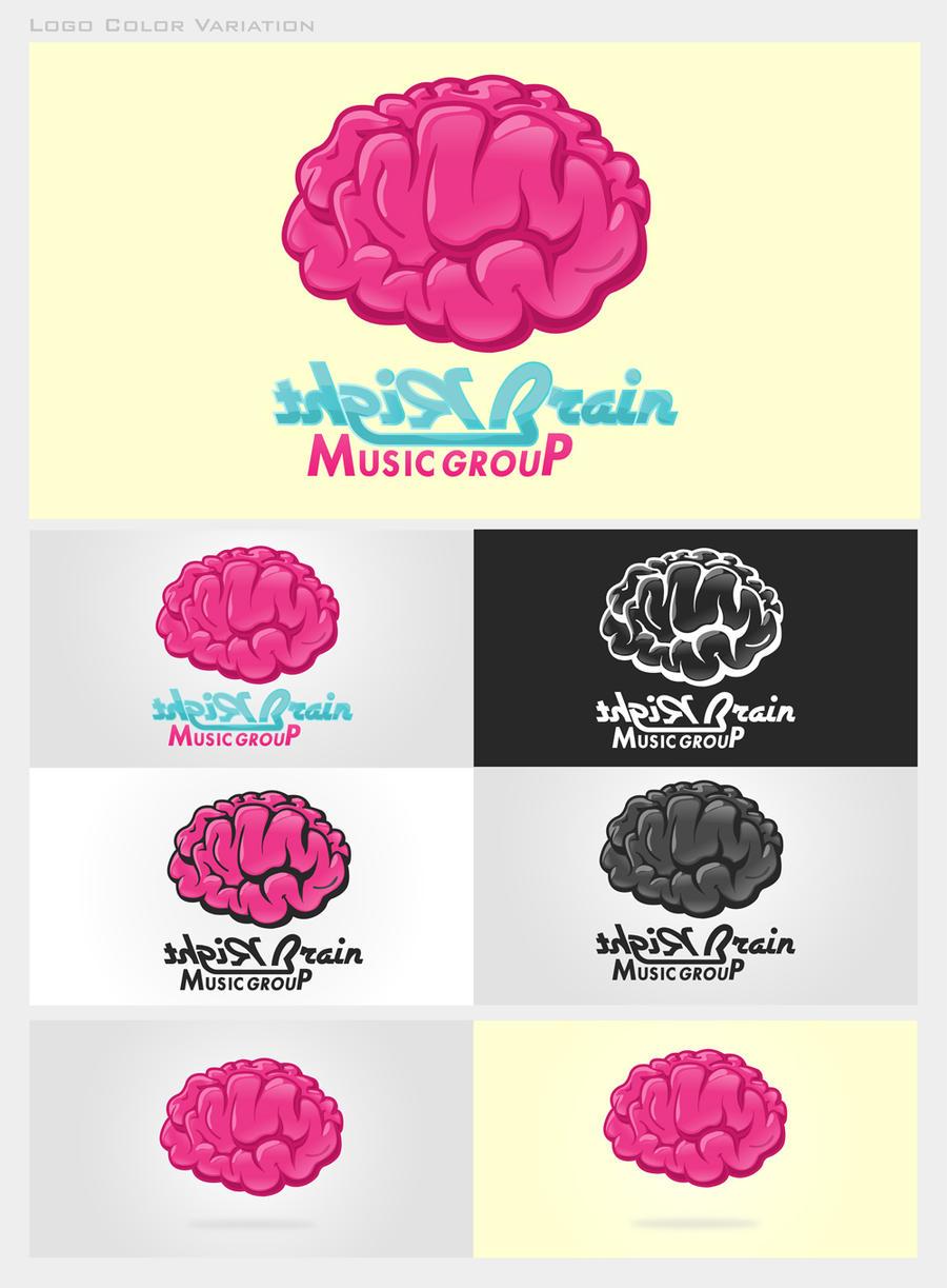 Right Brain Music Group Logo by PhreshSoldier