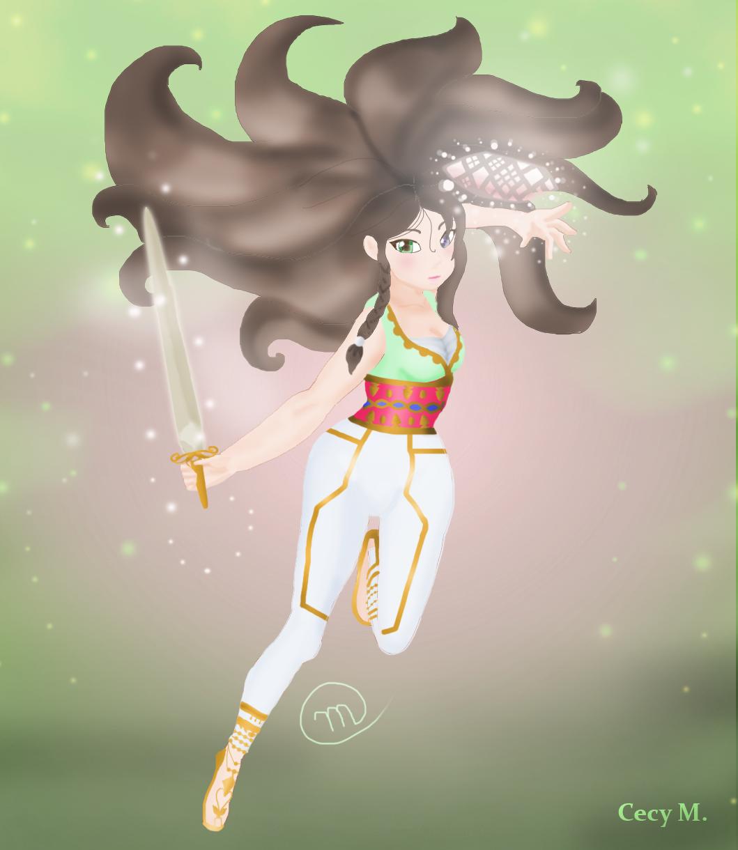 Lyah - The Swordsman