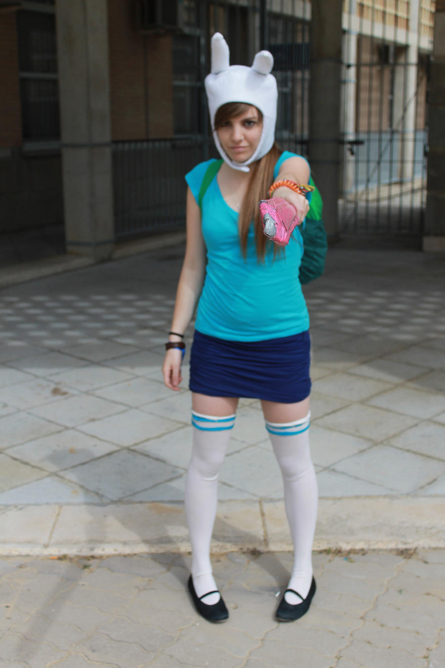 fionna adventure time cosplay by makaxere on deviantart
