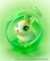 Cute Bunny by DiyaPrincessAnime